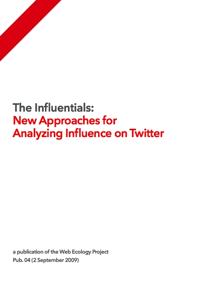 Analyzing Influence on Twitter